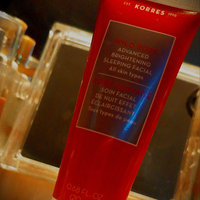 KORRES Wild Rose Advanced Brightening Sleeping Facial uploaded by Chasity M.
