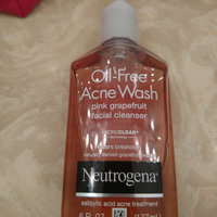 Neutrogena® Oil-Free Acne Wash Pink Grapefruit Facial Cleanser uploaded by Brooke M.