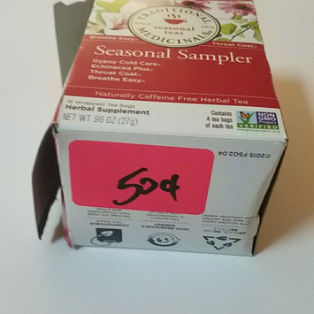 Photo of Traditional Medicinals Seasonal Sampler Herbal Tea Bags, 16 count, (Pack of 6) uploaded by Christine R.