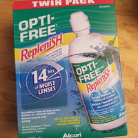 Opti-Free® Replenish® Multi-Purpose Contact Lens Solution uploaded by Kylie R.