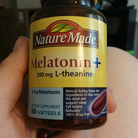 Nature Made Melatonin + L-Theanine 200mg uploaded by Emilee H.