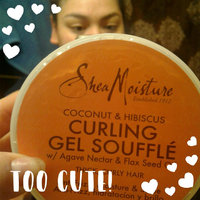 SheaMoisture Coconut & Hibiscus Curling Gel Soufflé uploaded by Cheljha L.
