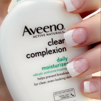 Photo of Aveeno® Clear Complexion Daily Moisturizer uploaded by Jordana M.