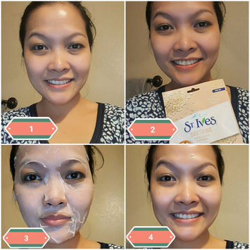 Photo of St. Ives Soothing Oatmeal Sheet Mask uploaded by Anna C.