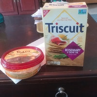Nabisco Triscuit - Crackers - Baked Whole Grain Wheat Rosemary & Olive Oil uploaded by Harley G.