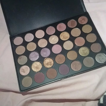 Photo of Morphe 35T - 35 Color Taupe Eyeshadow Palette uploaded by Taylor M.