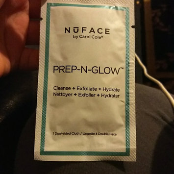 Photo of NuFACE Prep-N-Glow(TM) Cloths 20 Individually Packed Cloths uploaded by Thia B.