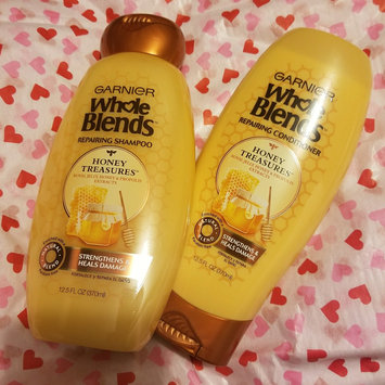 Photo of Garnier Whole Blends™ Honey Treasures Repairing Shampoo uploaded by Danielle F.