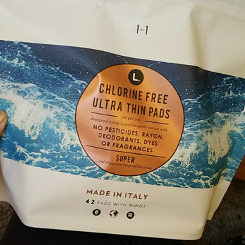 L  Organic Chlorine Free Ultra Thin Super Pads