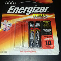 Energizer Max Alkaline Batteries uploaded by Emilee H.
