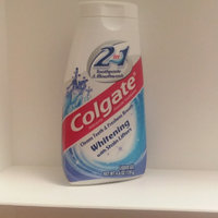 Colgate® 2in1 Toothpaste & Mouthwash Oxygen Whitening Fluoride Toothpaste Cool Mint uploaded by Virag M.