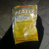 HALLS Sugar Free Honey-Lemon Flavor Suppressant Drops uploaded by Ines G.