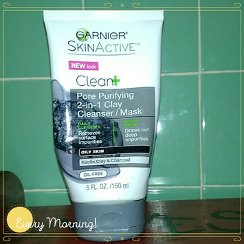 Photo of Garnier SkinActive Clean+ Pore Purifying 2-In-1 Clay Cleanser Mask uploaded by Shalee G.