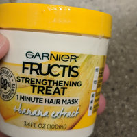 Garnier Fructis Strengthening Treat 1 Minute Hair Mask + Banana Extract uploaded by Elisha M.