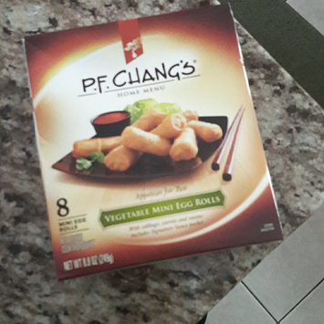 Photo of P.F. Chang's Home Menu Vegetable Mini Egg Rolls, 8 count, 8.8 oz uploaded by Meg M.