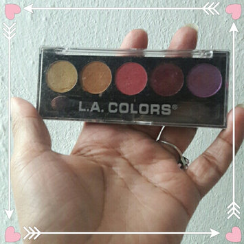 Photo of L.A. Colors 5 Color Metallic Eyeshadow uploaded by 🌹Mary Camil D.