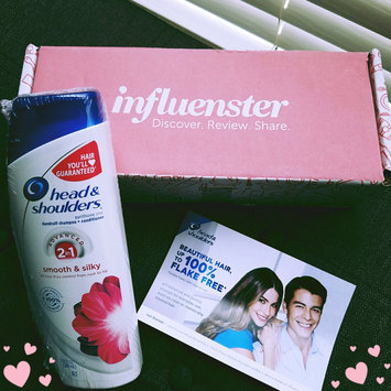 Photo of Head & Shoulders Smooth & Silky 2-in-1 Anti-Dandruff Shampoo + Conditioner uploaded by Jennifer M.