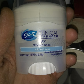 Photo of Secret Clinical Strength Advanced Solid Antiperspirant & Deodorant uploaded by Felicia N.