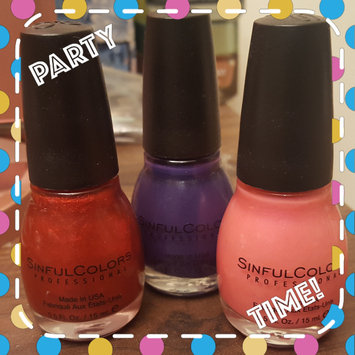 Photo of Sinful Colors Nail Color Red - 0.5oz uploaded by Emma C.