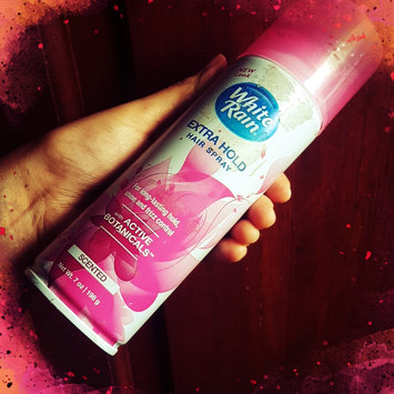 Photo of White Rain® Scented Extra Hold Hair Spray 7 oz. Aerosol Can uploaded by Sinthia R.