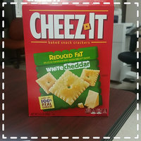 Cheez-It® Sunshine Baked Snack Crackers White Cheddar uploaded by Shanna C.