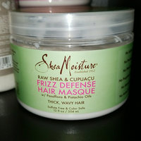 SheaMoisture Raw Shea & Cupuaçu Frizz Defense Hair Masque uploaded by Hispaneek V.