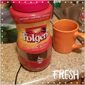Photo of Folgers Classic Roast Instant Coffee 16 Oz Plastic Jar uploaded by Morenike K.