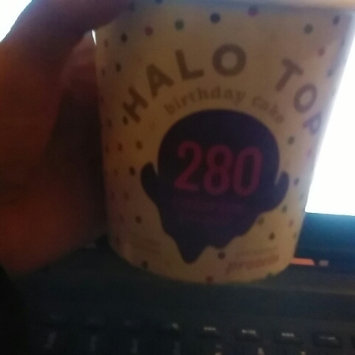 Photo of Halo Top Birthday Cake Ice Cream uploaded by Ashlie H.