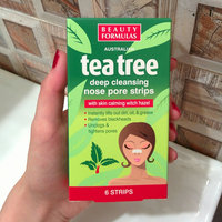 Beauty Formulas - Tea Tree Deep Cleansing Nose Pore Strips 6 strips uploaded by Victoria G.