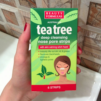 Photo of Beauty Formulas - Tea Tree Deep Cleansing Nose Pore Strips 6 strips uploaded by Victoria G.