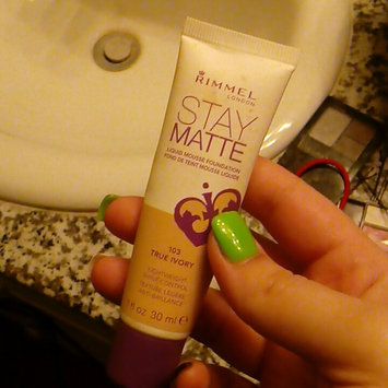 Photo of Rimmel London Stay Matte Liquid Mousse Foundation uploaded by Tiffiny S.
