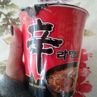 Nongshim Spicy Shin Ramen Cup uploaded by KookHee K.