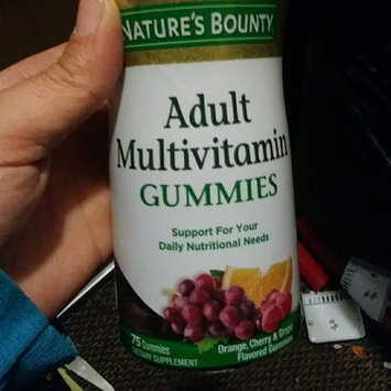 Photo of Nature's Bounty Your Life Multi Adult Gummies Multivitamin uploaded by crystal j.