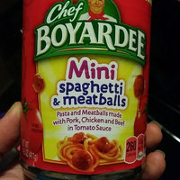Chef Boyardee Mini Spaghetti & Meatballs uploaded by crystal j.