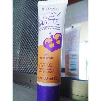 Photo of Rimmel London Stay Matte Liquid Mousse Foundation uploaded by Marianela C.