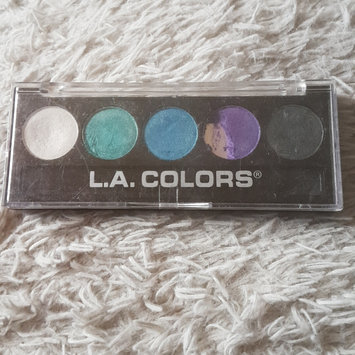 Photo of L.A. Colors 5 Color Metallic Eyeshadow uploaded by Victoria A.