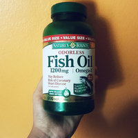 Nature's Bounty Odorless Fish Oil uploaded by Sinthia R.