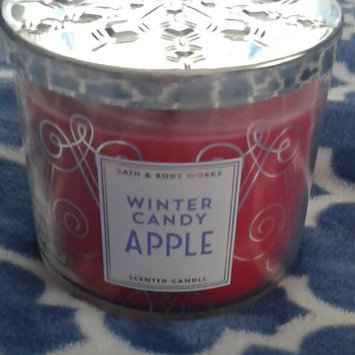 Photo of Bath & Body Works 1 X Bath and Body Works Winter Candy Apple 3 Wick Scented Candle 14.5 Oz. 2014 Edition uploaded by Daphne W.