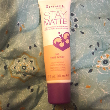Photo of Rimmel London Stay Matte Liquid Mousse Foundation uploaded by Lauren A.
