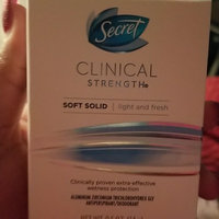 Secret Clinical Strength Advanced Solid Antiperspirant & Deodorant uploaded by Toni Marie D.