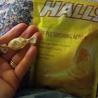 HALLS Honey-Lemon Drops Triple Action uploaded by Stacy P.