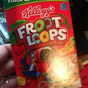 Photo of Kellogg's Froot Loops Cereal uploaded by crystal j.