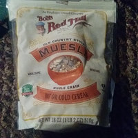 Bob's Red Mill Whole Grain Cereal Muesli uploaded by crystal j.