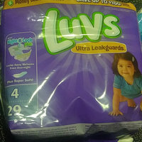 Luvs with Ultra Leakguards Size 4 Diapers uploaded by crystal j.