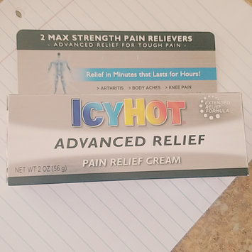 Photo of Icy Hot Advanced Relief Pain Relief Cream uploaded by Alyssa K.
