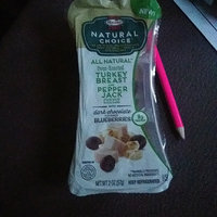 Hormel™ Natural Choice™ Oven-Roasted Turkey Breast/Pepper Jack Cheese/Dark Chocolate Covered Blueberries Snack Mix 2 oz. Tray uploaded by crystal j.