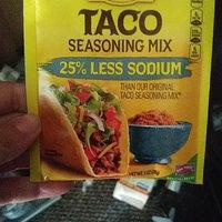 Old El Paso® 25% Less Sodium Taco Seasoning Mix uploaded by crystal j.