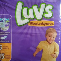 Luvs with Ultra Leakguards Size 5 Diapers uploaded by Miranda W.