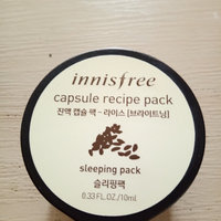 Innisfree - Capsule Recipe Pack (Sleeping Pack ) (Rice) 10ml uploaded by Arya P.