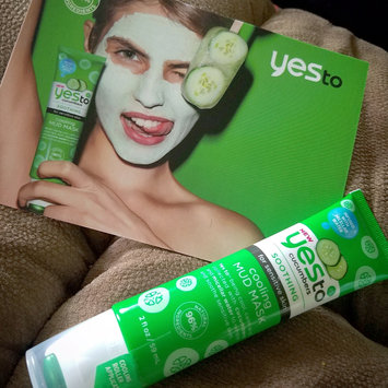 Photo of Yes To Cucumbers Cooling Mud Mask uploaded by keren a.